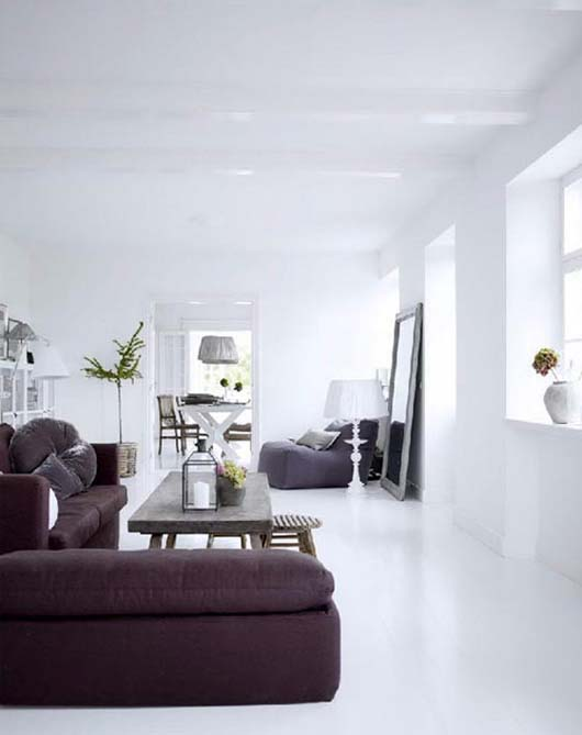 White interior design ideas by tine kjeldsen White house interior design