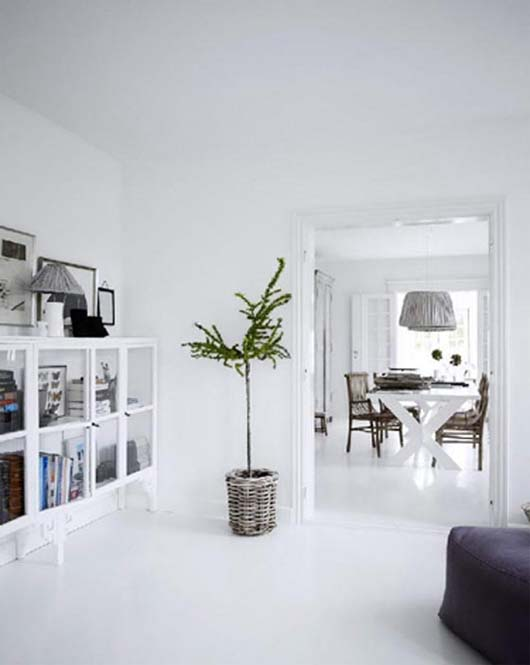White interior design ideas by tine kjeldsen for Interior house designs black and white