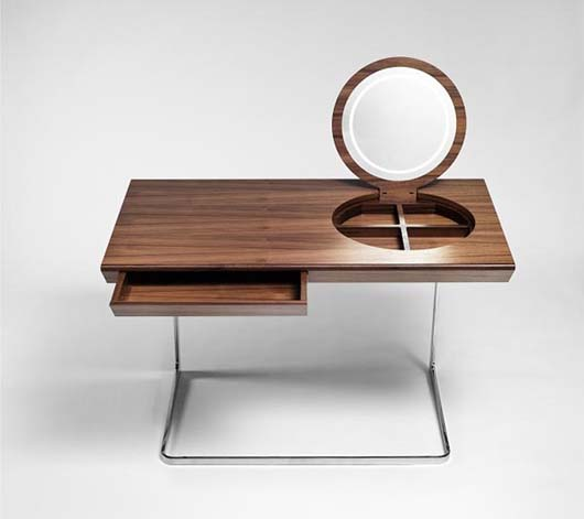 Wooden dressing tables with mirror by Olgoj Chorchoj studio 1 Wooden dressing tables with mirror by Olgoj Chorchoj studio