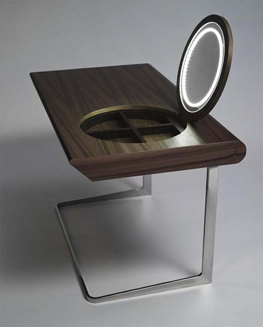 Wooden dressing tables with mirror by Olgoj Chorchoj studio 3 Wooden dressing tables with mirror by Olgoj Chorchoj studio