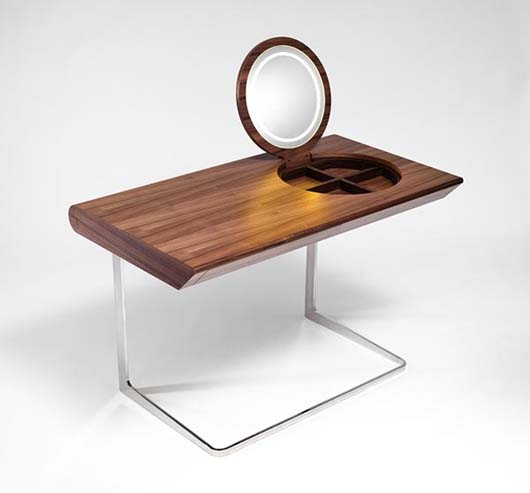 Wooden dressing tables with mirror by Olgoj Chorchoj studio 5 Wooden dressing tables with mirror by Olgoj Chorchoj studio