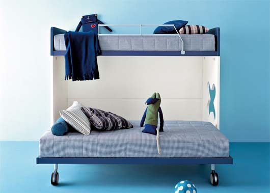 Kids bunk beds furniture : sturdy and safe for maximum play area