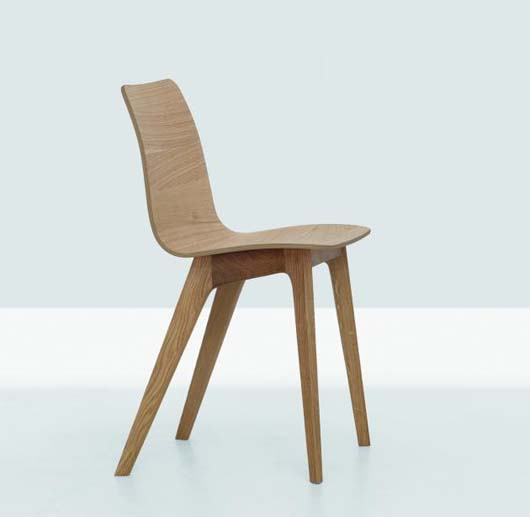 Morph chair by Formstelle 2 Solid wood chair by Formstelle   Morph chair