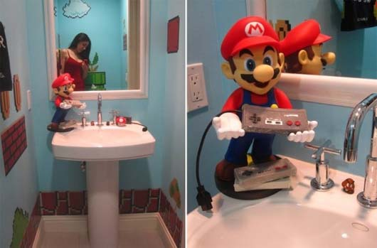 Super Mario bathroom ideas 1 Super Mario bathroom ideas