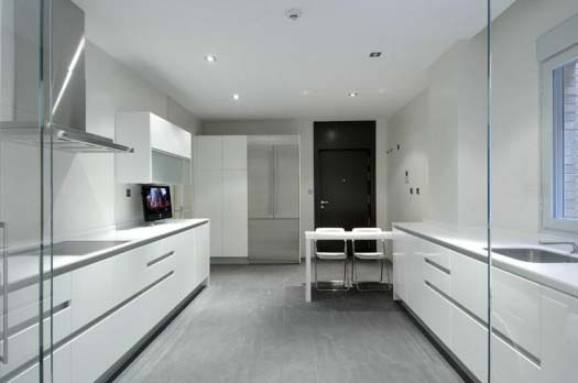 apartment interior design by A Cero 10 Apartment interior redesign in Madrid by A Cero