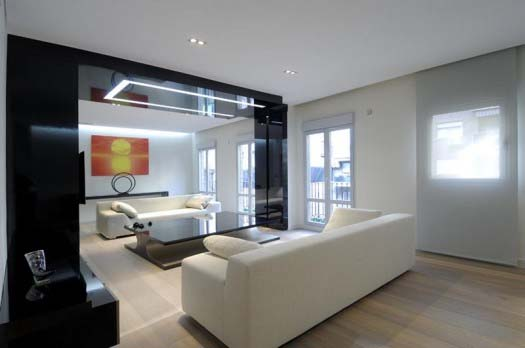 apartment interior design by A Cero 3 Apartment interior redesign in Madrid by A Cero