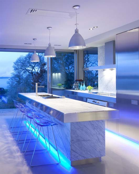 Contemporary Kitchen by Mal Corboy 1 Kitchen design apartment in contemporary style