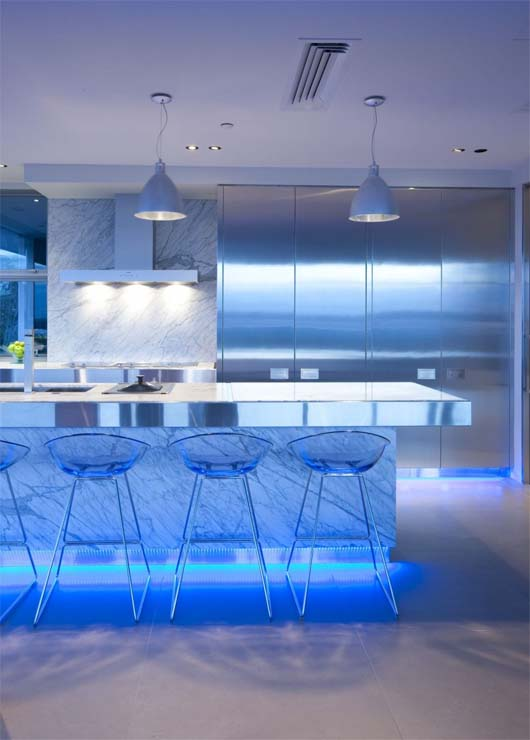 Contemporary Kitchen by Mal Corboy 2 Kitchen design apartment in contemporary style