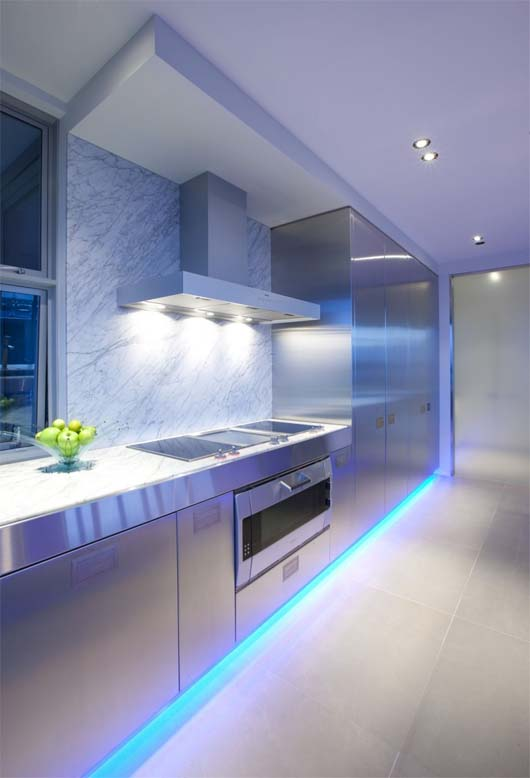 Contemporary Kitchen by Mal Corboy 4 Kitchen design apartment in contemporary style