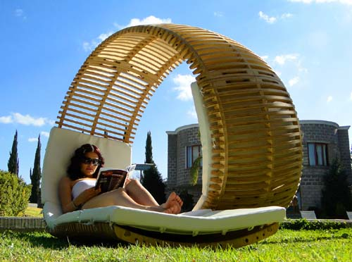patio furniture lounger
