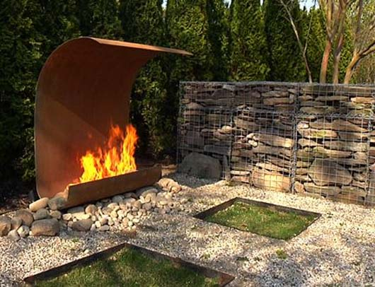 Outdoor Fire Features Ideas From Elena Colombo