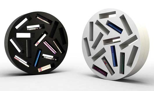 Patatras rolling bookshelves by Michaël Bihain 3 Patatras rolling bookshelves by Michaël Bihain