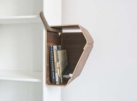 Plus One by Matthias Ries 1 Plus One for small spaces storage solution