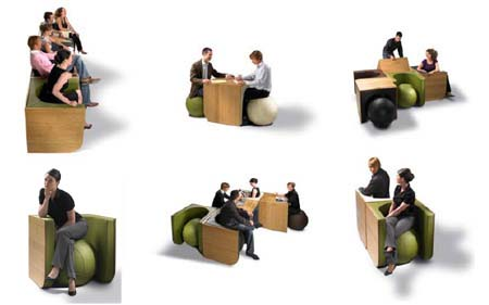 Switch Table Chair by Ellen Ectors 5 Just SwiTCh it and turn into table or chair