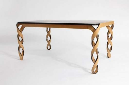 dna inspired table