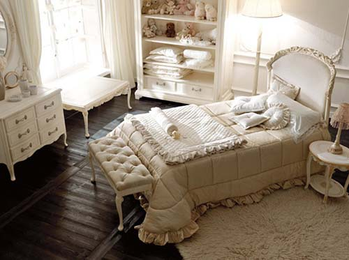 children bedroom furniture by Savio Firmino 1 French style children bedroom furniture by Savio Firmino