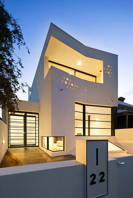 Prahran House by Nervegna Reed + PH Architects 1 Art Gallery directors house in Melbourne, Australia